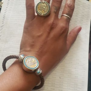 Buffalo Nickel Bracelet and Ring